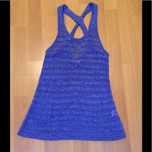 American eagle knitted tank top